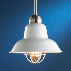 http://www.houzz.com/photos/2666516/White-Enamel-Industrial-Pendant--lamp-shades-