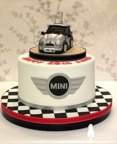 Claudia Mini cooper cake Minis and Cake