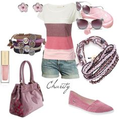 summer outfit..shorts..by cvock on polyvore