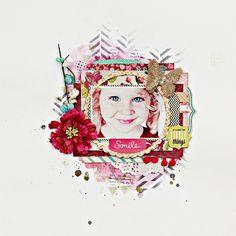 Christin aka Umenorskan scrapper: MCS - July Limited Edition kit - I - Smile - Websters Pages