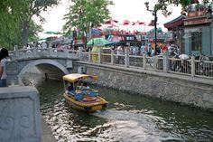 Houhai, Beijing, China. I stood exactly here~! Ugh.....I miss China