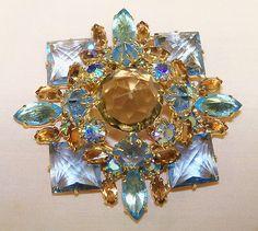 Vintage Brooch Pin Designer Signed Schiaparelli Size 3x3 Outstanding | eBay