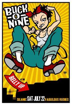 By Scrojo Buck-O-Nine Poster