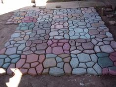 quikrete walk way Do-It-Yourself Walkways and Patios in under an ...