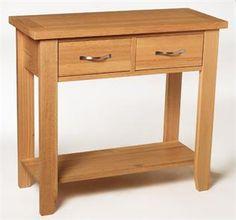 Lanner Oak Console Table Hallway Pinterest Console tables