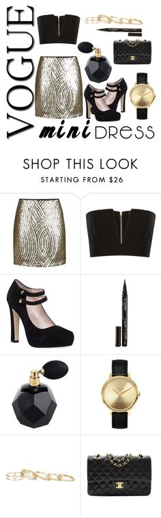 """""""look39"""" by britt-vande-velde ❤ liked on Polyvore featuring Topshop, Balmain, Kate Spade, Smith & Cult, Nixon, Kendra Scott and Chanel"""