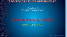 Profu`economist: COMUNICAREA SCRISA (3) School