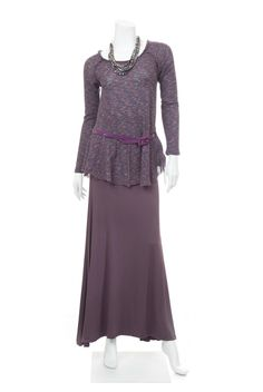 Type 2 Profound Purple Outfit