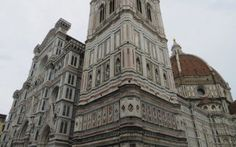 Amazing facade of Florence Cathedral (Il Duomo di Firenze