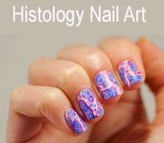 Lab Week Style - Histology Nails