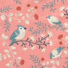 print & pattern: FABRICS - teagan white Bird Patterns, Textile Patterns, Print Patterns, Bedhead, Illustrations, Kids Prints, Stuffed Animal Patterns, Cute Pattern, Surface Pattern Design