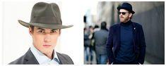 Herrenmode Hüte, trendige Farben