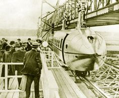 This Crazy Propeller-Driven Hanging Monorail Was Once Considered the Future Of Commuting