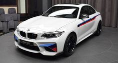 This Is What A BMW M2 Loaded With Optional M Performance Parts Looks Like