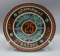 Tanier z pozdšovskej keramiky Decorative Plates, Home Decor, Decoration Home, Room Decor, Home Interior Design, Home Decoration, Interior Design
