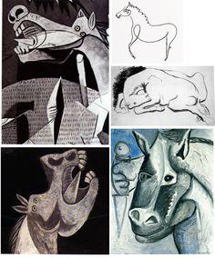 PICASSO/Bocetos caballos