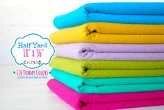 Hey, I found this really awesome Etsy listing at https://www.etsy.com/listing/130801914/12-yard-of-pure-wool-felt-18-x-36-100