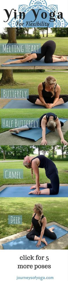 More poses in the post, plus yin yoga benefits