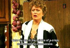 I love this!! There always had to be cheesecake!!!