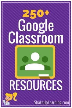 I've been curating Google Classroom resources on Pinterest, which now includes over 125 Google Classroom Tips, Tutorials and resources for teachers. I have curated YouTube tutorials, blog posts, infographics, books, guides, tips, tricks and more on this Pinterest board. So whether you are new to ...