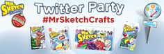 #MrSketchCrafts Twitter Party - Tuesday, December 16th