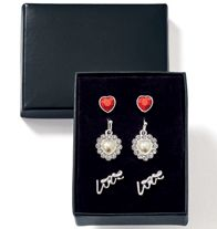 Lovely Sparkle 3-Pair Earring Set