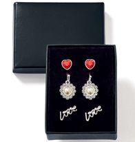 Lovely Sparkle 3-Pair Earring Set