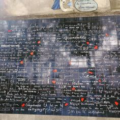 Wall of love - Paris  #Paris #love #france #travel #instamoment #instatravel #travelers