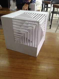Koram Cube Design, 3d Design, Lamp Design, Lighting Design, Sacred Architecture, Architecture Design, Architecture Student, Structural Model, Architecture Foundation