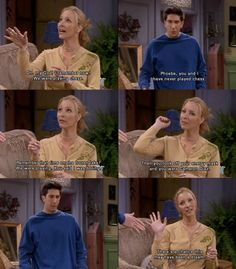 """Remember that time on the frozen lake? We were playing. You said I was boring.."" -Phoebe"