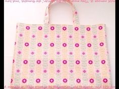 入園グッズを作ろう♪通園バッグ・上履き入れの作り方 – Handful[ハンドフル] Sewing Tutorials, Kindergarten, Reusable Tote Bags, Purses, School, Youtube, Handbags, Kindergartens, Wallets
