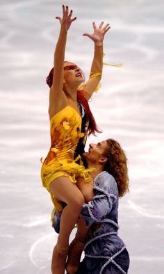 2002 Winter Olympics: Champions Marina Anissina and Gwendal Peizerat