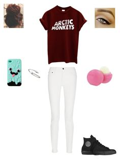 """""""am"""" by audreehistired ❤ liked on Polyvore featuring Converse, Proenza Schouler, Jules Smith and Eos"""