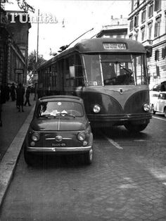 Fiat Cars, Historical Pictures, Public Transport, Bed And Breakfast, Old Photos, Transportation, Automobile, Nostalgia, Black And White