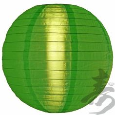 """24"""" Dark Green Nylon Lantern by Asian Import Store, Inc.. $7.98. This nylon lantern is durable and long lasting. This lantern has a shimmer to it which regular paper lanterns do not have. Great for outdoors, this lantern is much more durable outdoors than regular paper lanterns.  Dimensions: 24""""D  (All lanterns sold without cord, cord must be purchased separately)"""