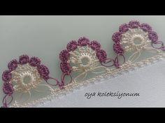 Crochet Doilies, Crochet Flowers, Crochet Lace, Crochet Edging Patterns, Baby Knitting Patterns, Crochet Flower Tutorial, Knitting Stiches, Lace Hair, Tatting Lace