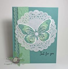 Watercolor Wings for SIP2 by Chris Slogar - Cards and Paper Crafts at Splitcoaststampers