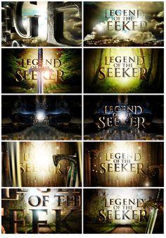 Legend Of The Seeker - Nate Howe Freelance Design + Art Direction