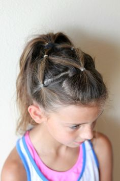 10 Cute Little Girl Hairstyles @shelby_davison , Sweet D likes this!