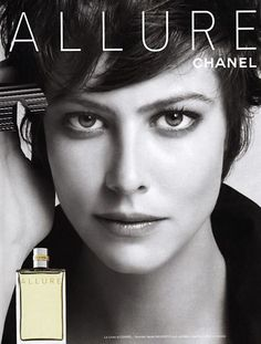 Anna Mouglalis for Allure Perfume by Chane