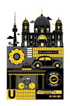Berlin Illustration graphique