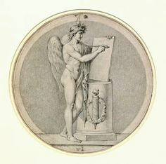 Study for a Medal. 19th.century. Augustin Dupre. French 1748-1833. http://hadrian6.tumblr.com