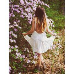 #vestido #blanco #hermoso