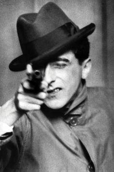 Jean Cocteau by Berenice Abbott
