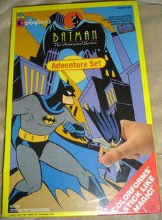VINTAGE 1993 BATMAN COLORFORMS