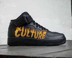 innovative design a1563 05027 Custom Nike Air force 1 tweetycustom sneakers custom shoes   Etsy Nike Air  Force Ones,