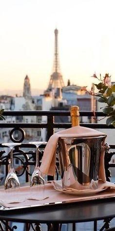Paris. The stunning view from Hotel Balzac