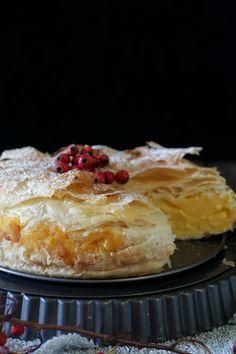 Galaktoboureko o pastel de leche griego