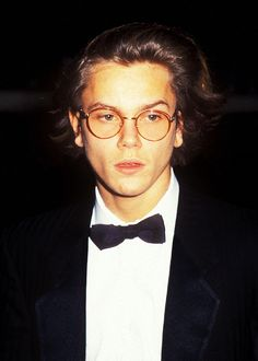 River Phoenix at the Golden Globes 1989