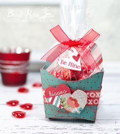 "Brigit's Scraps ""Where Scraps Become Treasures"": Be Mine - Heart Treat Fry Box Dreaming Tree, svg box"